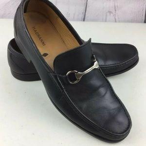 Magnanni Mens Sz 10.5M Slip On Loafers EUC